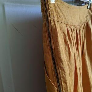 Anthropologie Skirts - Anthropologie Yellow Circle Skirt